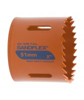 Пила кольцевая, биметаллическая SANDFLEX, 121 мм