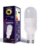 LED лампа Sirius 2W Яркий свет G9