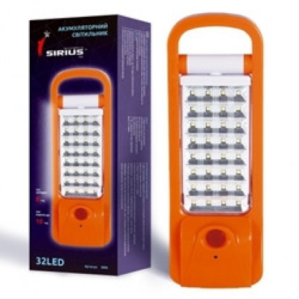 Аккумуляторный LED светильник Сириус Трансформер 32 лампы 1000MAH 10ч работы