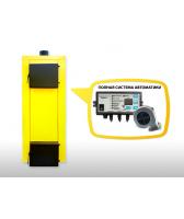 Буран-Deluxe 20 кВт твердотопливный котел