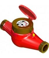 Многоструйный счётчик горячей воды GROSS MTW-UA DN=50 мм (фланец), 15 м3/час